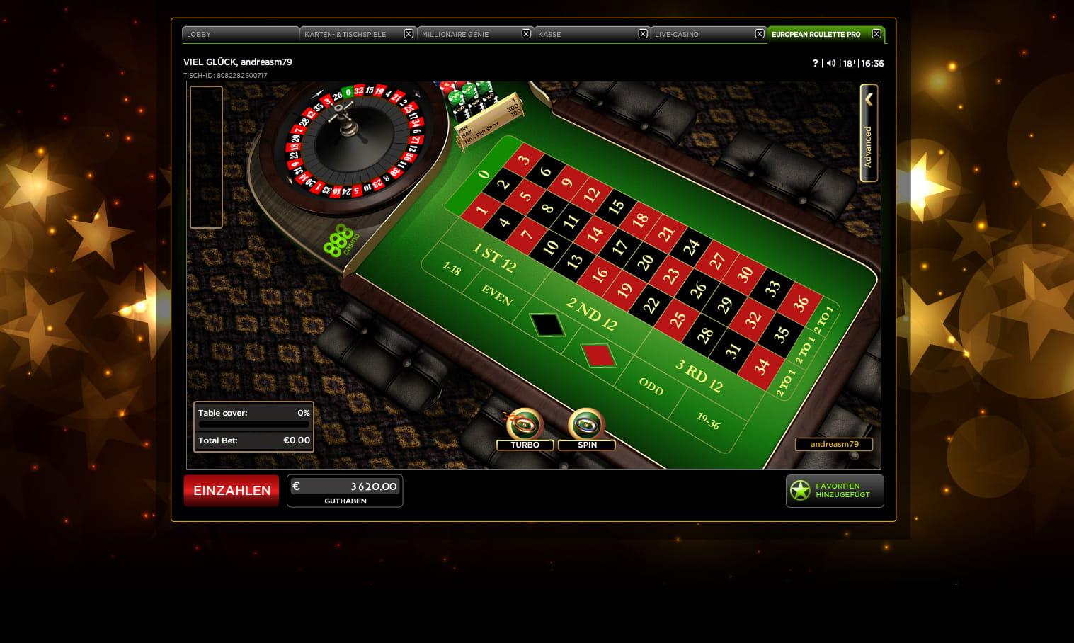 888 Roulette Spielen