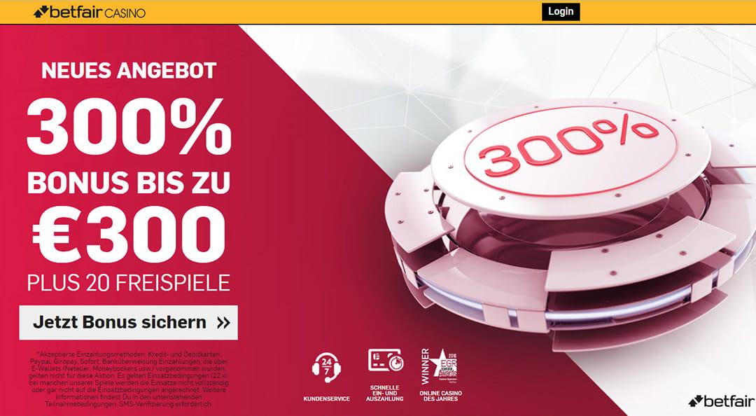 Neue Casino Bonus