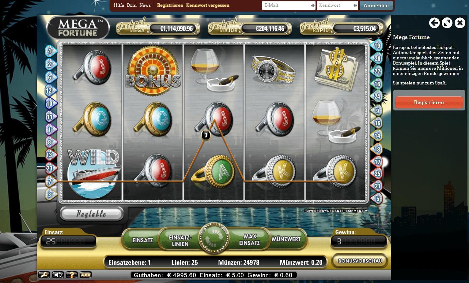 Slotastic 50 free spins