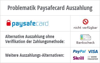 paysafecard online casino auszahlen
