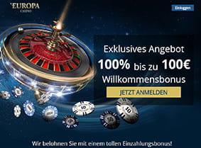 neue online casinos mit wett bonus europa