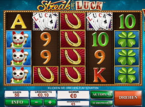 Der Europa Casino Slot Streak of Luck